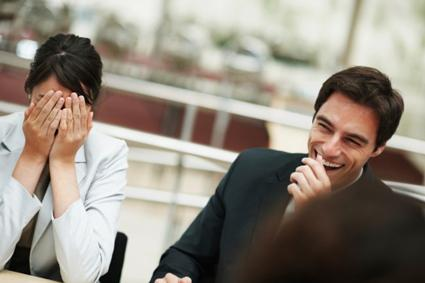 Laughing at a Meeting