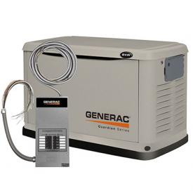Generac 6237 Liquid Propane/Natural Gas Powered Standby Generator