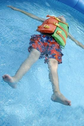 Childrens swim vest