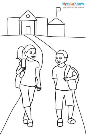 Back To School Safety Worksheets