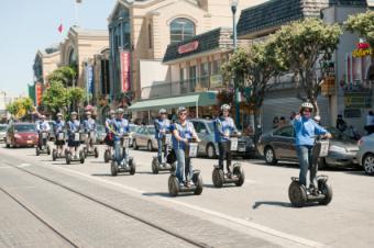 San Francisco segway tour
