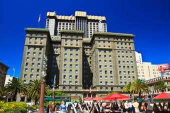 The luxurious Westin Hotel in San Francisco