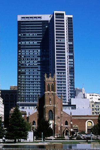 The Four Seasons Luxury Hotel in San Francisco