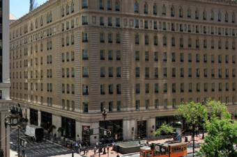 The Palace Hotel in the SoMa district of San Francisco