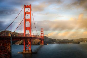 Image of the Golden Gate Bridge in San Francisco