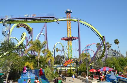 Six Flags Discovery Kingdom Rides