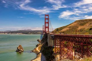 Golden Gate Bridge roadway