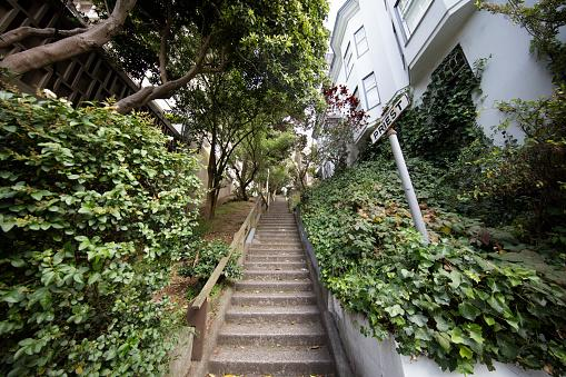 San Francisco Street Stairs
