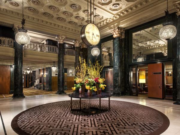 Saint Francis Hotel San Francisco lobby