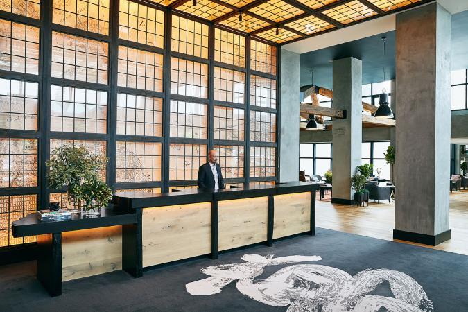 Front Desk at Hotel Kabuki