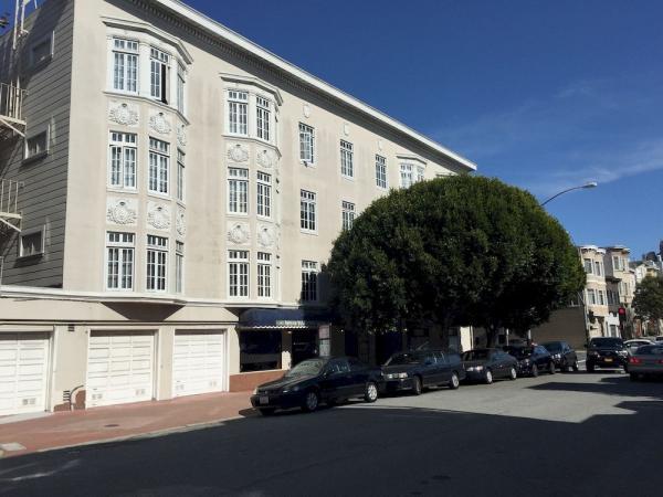 Marina Inn San Francisco exterior street