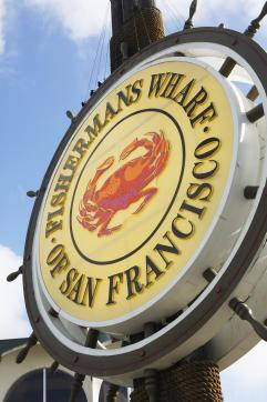 Fisherman's Wharf sign in San Francisco