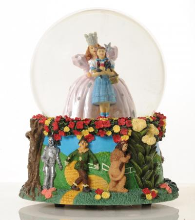 The Wizard of Oz decorative globe