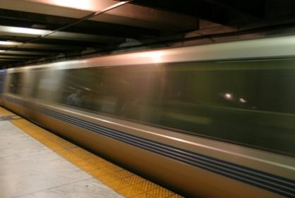 Image of a San Francisco BART train