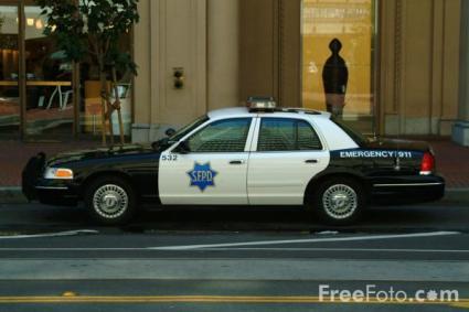 San Francisco Police Department Patrol Car