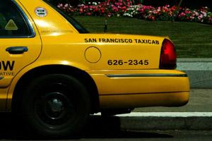 San Francisco taxis are convenient for living or visiting in San Francisco.