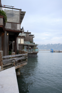 Sausalito's architecture is part of its charm.