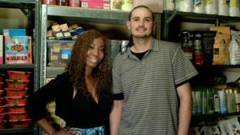 Extreme Couponing couple Amber and Clavon Flores