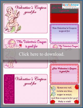 Homemade Valentine's Day Coupons