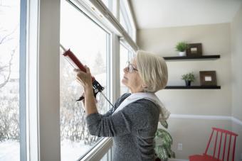caulking windows for winter