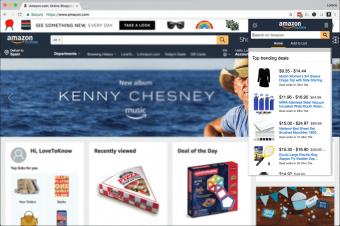 Screenshot of Amazon Assistant