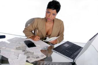 CPA preparing taxes