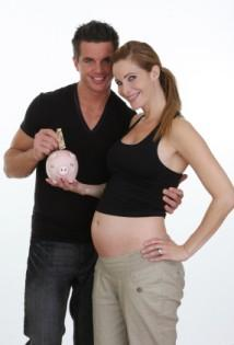 expectant parents and money
