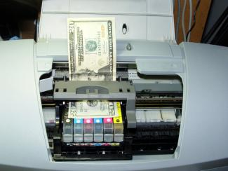 printer ink expense