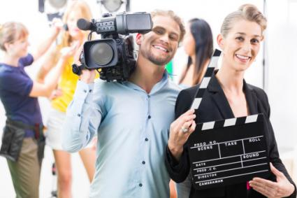 TV Production team