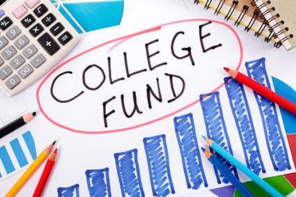 College fund planning graph