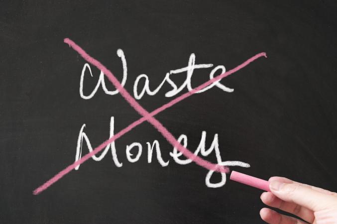 Do not waste money