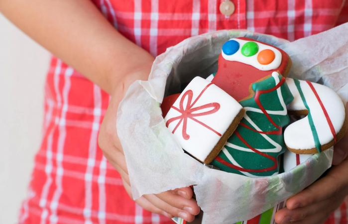 Christmas Gingerbread Cookies Gift