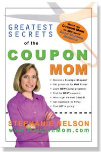 Book image Greatest Secrets of the Coupon Mom