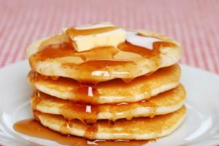 Image of a stack of IHOP pancakes