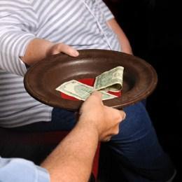 tithe plate
