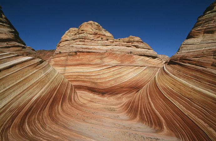 Sandstone rock formation