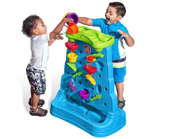 Step2 Waterfall Discovery Wall Playset