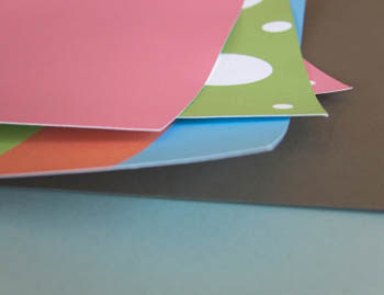 Scrapbook Designs Using Construction Paper