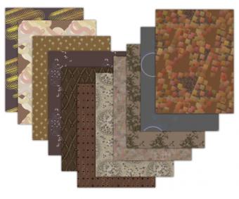 brown printable scrapbook paper