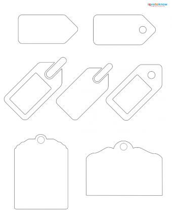tag scrapbook patterns
