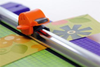 Rotary cutter for scrapbooking