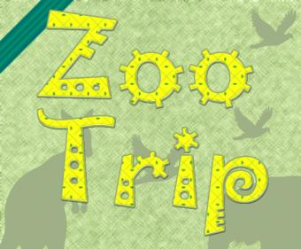 Scrapbook Layout Ideas with Zoo Themes