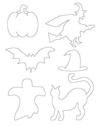 halloween scrapbook patterns
