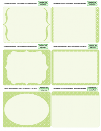 lime journaling cards