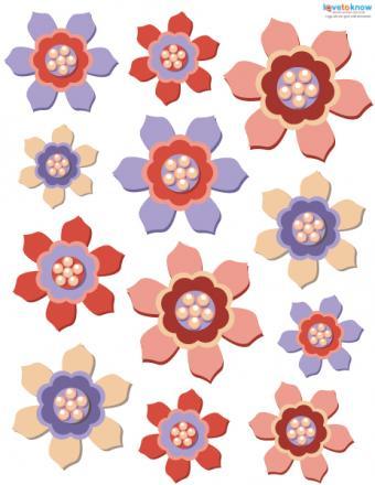 free digital scrapbooking flowers