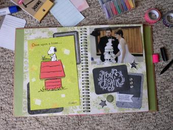 Wedding Smash Book Ideas