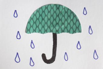 punch art umbrella