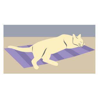 Sleeping Cat Clipart 4