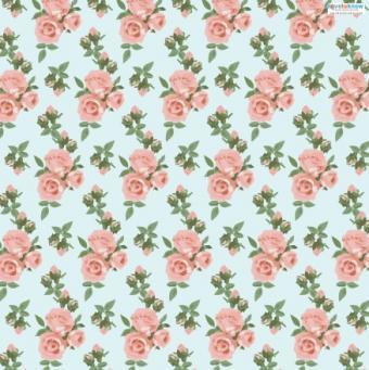 Spring Scrapbook Paper 1 roses thumb