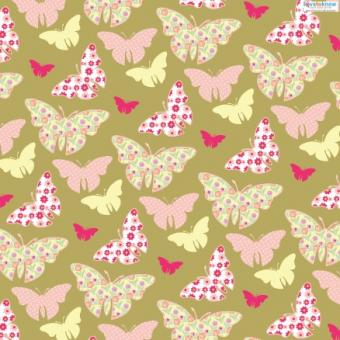 Spring Scrapbook Paper 3 butterflies thumb